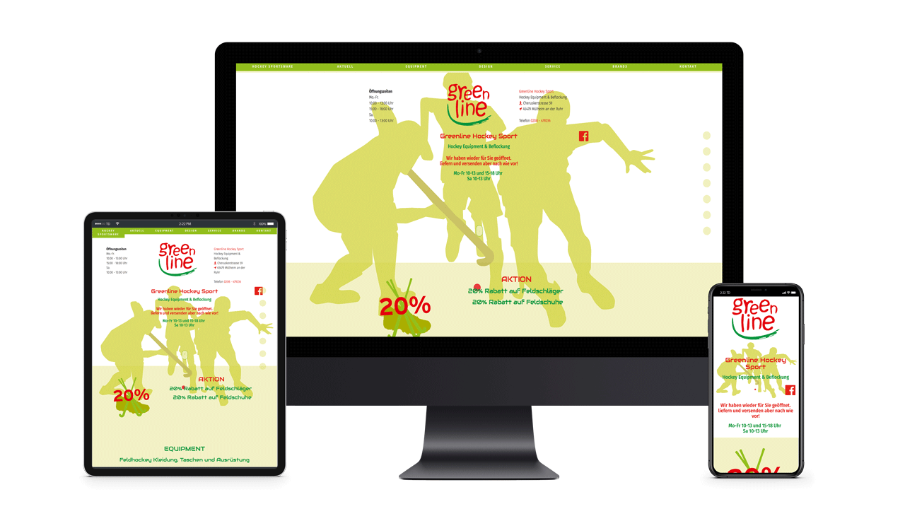 Trapp-design referenzen 2020 website responsive greenline-hockey 2017 1